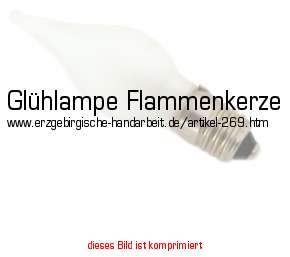 ersatz gl hlampe flammenkerze mit fassung e10 und 3 watt. Black Bedroom Furniture Sets. Home Design Ideas