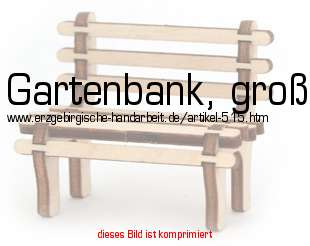 Deko Gartenbank Aus Holz